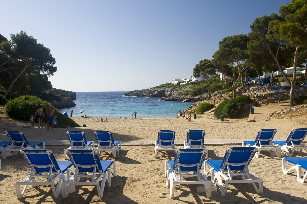'Cala D'Or hotel beach in Majorca' - Majorca